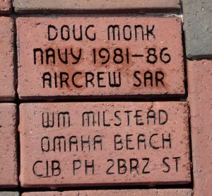 Bill Milstead's brick